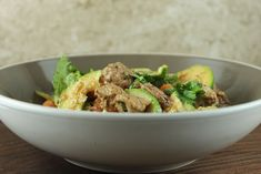 Lamb may not be a regular in your dinner rotation. For an easy way to get introduced to this protein source, this lamb veggie stew is a great option. Tender lamb chunks are simmered with lots of veggies for a hearty, healthy meal that is perfect for when you want something comforting, but different. Feel …