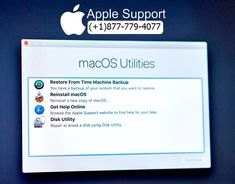 Mac Support: How to use macOS Recovery to restore the operating system on your Mac - Mac Technical Support - Apple Time Machine, Liver Function Test, Led Apple, Apple Menu, Spinning Globe, Intelligent Technology, Apple Support, How To Get Abs, Operating System