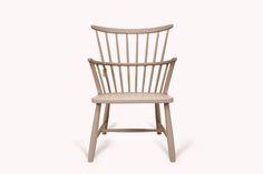 Farmhouse#6.1  Antiker Farmhouse Chair mit Armlehnen. Der Stuhl ist in Farrow & Ball Farben gestrichen.
