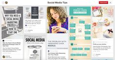 Social Media Marketing Pinterest Boards
