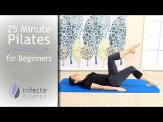 25 Minute Pilates for Beginners - YouTube