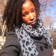 Samantha // 4B/C Natural Hair Style Icon | Black Girl with Long Hair