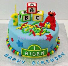 Sesame Street  Cake by The Pinkery Cake
