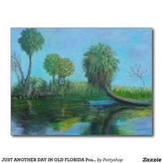 JUST ANOTHER DAY IN OLD FLORIDA Postcard