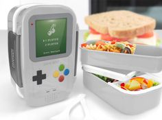 Keep Your Lunch Time Power-Ups in This Game Boy Bento Box