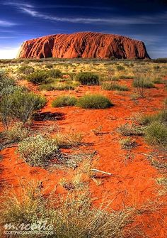 Uluru, Kata Tjuṯa National Park, Australia – Amazing Pictures - Amazing Travel Pictures with Maps for All Around the World