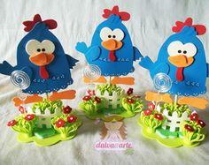 centro de mesa galinha pintadinha                                                                                                                                                                                 Mais