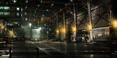 Ocean_Base_Hangar Deus Ex 3 DLC by *Gryphart on deviantART