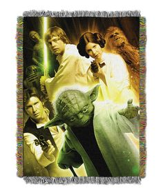 Star Wars Small Rebel Force Tapestry Throw by Star Wars #zulily #zulilyfinds