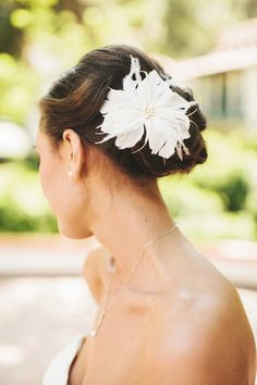 #hair-accessories, #hairstyles  Photography: Josh Elliott Photography (joshelliottstudios.com) - joshelliottstudios.com  Read More: http://www.stylemepretty.com/2013/08/16/rancho-las-lomas-wedding-from-josh-elliott-photography/