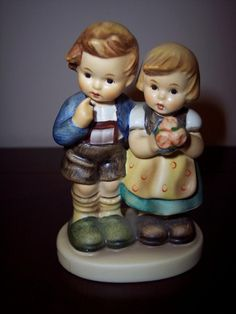 Vintage,,1952 Hummel Boy And Girl Figurine