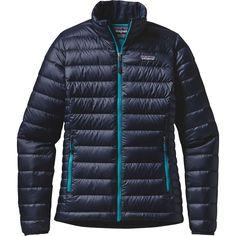 Patagonia - Down Sweater Jacket - Women's - Navy Blue/Epic Blue