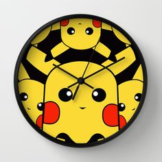 Pacman pika Wall Clock Promoters - $30.00