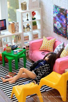 IKEA HUSET doll furniture