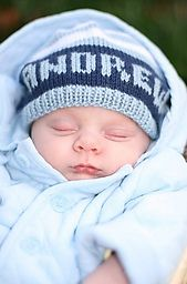Ravelry: Baby Name Hat pattern by Ellen and Alexandra Thelin