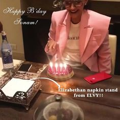 Delighted to see our products being used by @sonamkapoor.  Happy birthday Sonam Kapoor Thank you Voompla #SHOPNOW at www.elvy.com .
