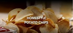 Snack Recipes - How to Make Homestyle Potato #Chips