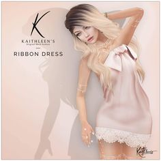 https://flic.kr/p/TAbXXG | Kaithleen's Ribbon Dress for the Season Story | Hi guys,  Are you ready for another new release ?  Kaithleen's Ribbon Dress for the Season Story  - 100% original mesh - Maitreya Lara, Belleza Freya-Isis and Venus, Slink body  Take taxi and check this out :  maps.secondlife.com/…/The%20Seasons%20Sto…/116/137/22