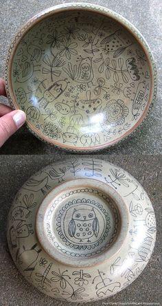 art bowl by flora chang