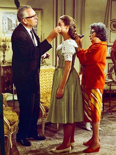 Behind the Scenes on The Sound of Music, 50 Years Later | TOUCHING UP | Charmian Carr (Liesl) gets her makeup done between takes.For more from Andrews, Plummer and the Sound of Music set, pick up the latest issue of PEOPLE, on newsstands Friday.