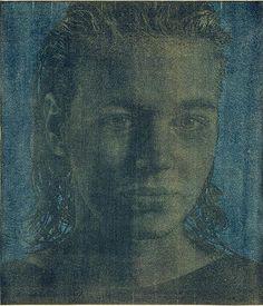 Franz Gertsch, Natascha III, 1986 Holzschnitt auf Hanga-Shi Japanpapier