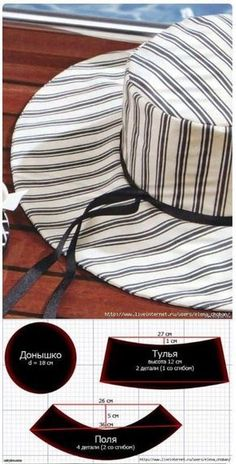 Awesome Picture of Beanie Hat Pattern Sewing Hat Patterns To Sew, Dress Sewing Patterns, Clothing Patterns, Pattern Sewing, Pattern Drafting, Sewing Hacks, Sewing Tutorials, Sewing Crafts, Sewing Projects
