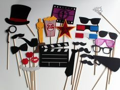 (Chrystal! I have a backdrop, camera,  and a few props that we could use for the kids)  Props for the photobooth