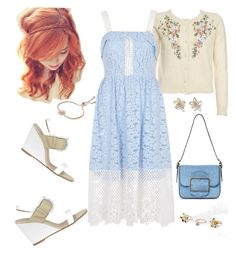 """""""Sem título #324"""" by marlenewelke ❤ liked on Polyvore featuring Manas Lea Foscati, Topshop, River Island and Tory Burch"""