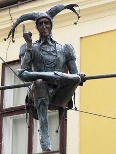 Székesfehérvár Heart Of Europe, Frozen In Time, Bronze, Outdoor Sculpture, Installation Art, Romania, Tao, Statues, Folk Art