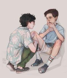 - Where's your inhaler, Eds?? - feelfeli Richie x Eddie | Reddie IT Art