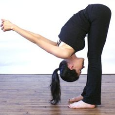 Forward bend -- Yoga exercises to strengthen bladder