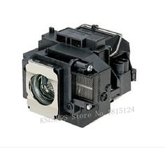 >> Click to Buy << KSlamps ELPLP55 V13H010L55 Replacement Lamp with Housing for Epson EB-W8D H335A Projectors #Affiliate