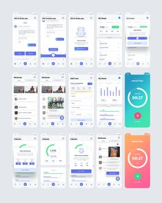 Large - Chatbot - The Chatbot Device which help to provide customer service in - Large Web Design, App Ui Design, Mobile App Design, Interface Design, User Interface, App Design Inspiration, Motion Design, Dashboard App, Android App Design