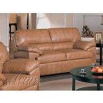 $697.00  Acme Furniture - Harbor Taupe Regenerated Leather Love Seat - M5951