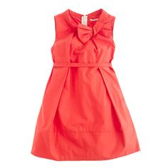 Girls' retro bow dress - everyday - Girl's dresses - J.Crew