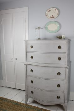 Etonnant Color For Crib And Dresser In Nursery Annie Sloan Chalk Paint    Paris Grey