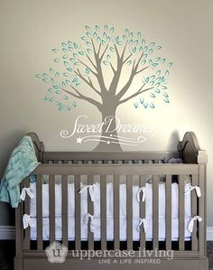 Nursery Tree ideas Little kid bedroom ideas Uppercase Living Nursery Ideas Personalize your nursery *52 colours of vinyl to choose from www.facebook.com/UlwithAng http://angtresoorcarlson.uppercaseliving.net/Home.m