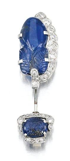 SAPPHIRE AND DIAMOND beauty bling jewelry fashion