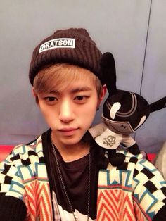 Can I have everything in this photo?  PLEASE?!  Daehyun, the matoki, and the outfit.  Yes.  Thank you!