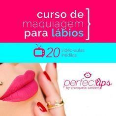 Curso De Maquiagem Para Lábios Perfect Lips