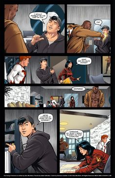 The Young Protectors: Engaging The Enemy Interlude One—Page 6 - Yaoi 911 Webcomics