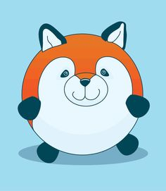 Mozy the Fox by 3 Roads Media #squishable