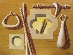 Herbert Bayer (1900-1985) mauerbild (gelb) 23 3/4 x 31 3/8in (60.3 x 79.8cm)