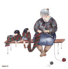 Художниця малює теплі ілюстрації про сім ю. Дивлячись на них d0236ad9c1ec2