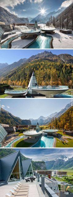 Aqua Dome resort in Austria. #legero #travelling #austria