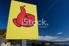 A hitching signpost showing a good place to hitch and pick up. Bay Photo, Kiwiana, Image Now, Small Towns, New Zealand, Religion, Royalty Free Stock Photos, Culture, Lifestyle