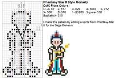 Moriarty Perler beads though!!