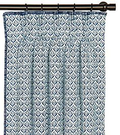 Kari Iris Curtain Panel Right from Eastern Accents