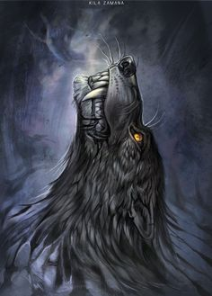 Have you heard the story... about a wolf who failed to change the world? Dark Howl by Exileden on DeviantArt