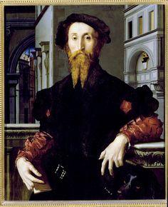 Bronzino - Portrait of Bartolomeo Panciatichi    Florence, Galleria degli Uffizi